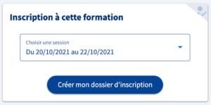 Dossier inscription CPF