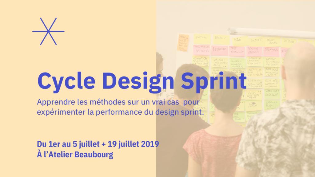 Formez-vous au Design Sprint en 5 jours