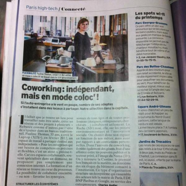 Coworking: indépendant, mais en mode coloc' !