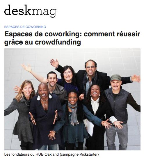 Espaces de coworking: comment réussir grâce au crowdfunding