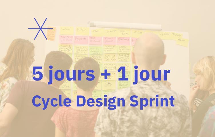 Formation Design Sprint – 9 au 13 mars