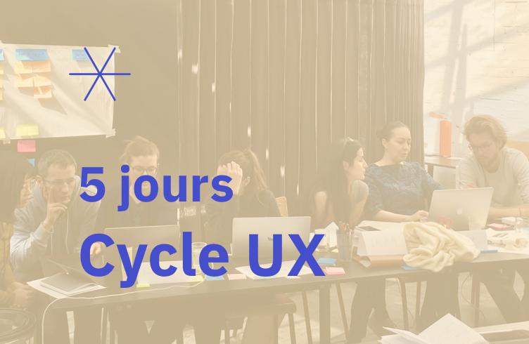 Formation UX Design (Visio) – 20 au 24 avril