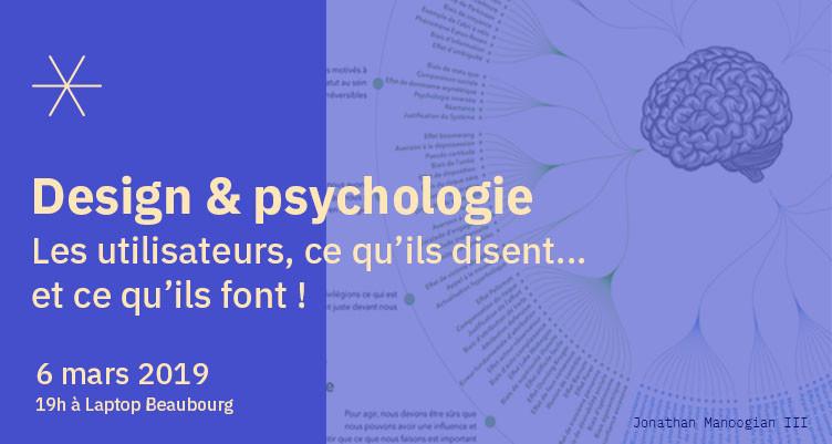 [GOOD EVENING UX] Design & psychologie