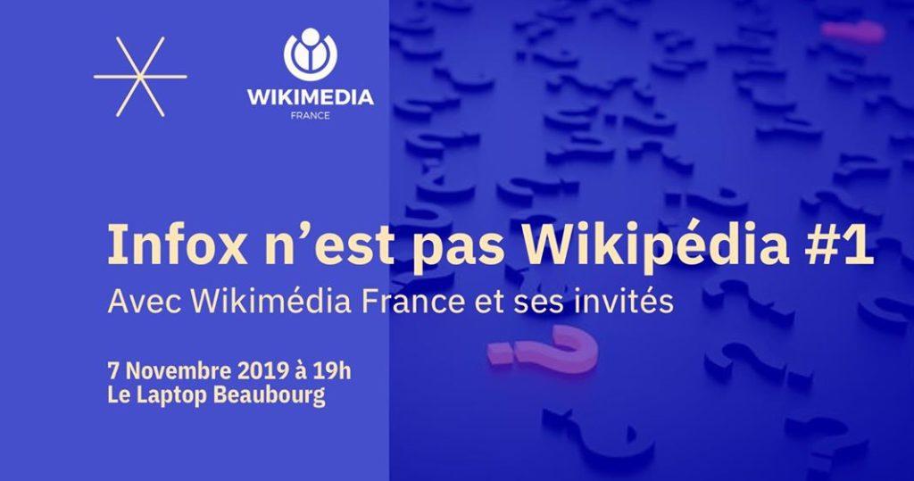 Infox n'est pas Wikimédia