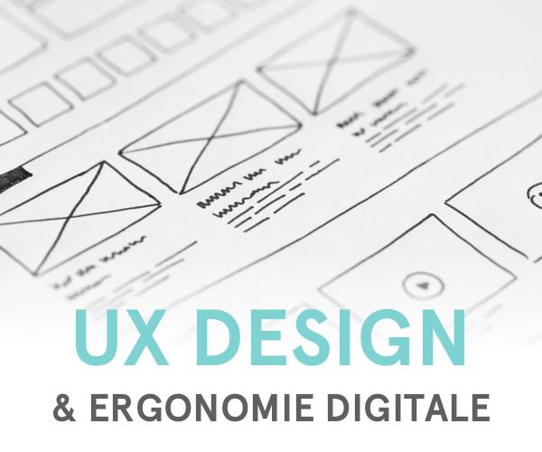 Formation aux méthodes de l'UX Design et d'ergonomie digitale